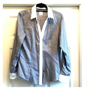 Brooks Brothers fitted cotton spandex shirt